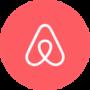 logo airbnb sfondo